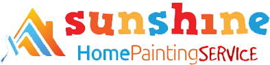 logo of sunshine home painting service kolkata